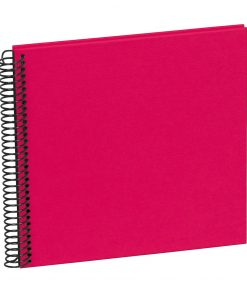 Sprial Piccolino, 20 black pages, efalin cover, pink | 4250540928135 | 354871