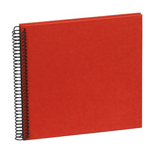 Sprial Piccolino, 20 black pages, efalin cover, red | 4250540928111 | 354869