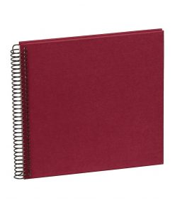 Sprial Piccolino, 20 cream white pages, efalin cover, burgundy | 4250540901725 | 353032