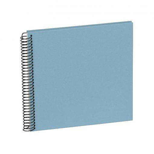 Sprial Piccolino, 20 cream white pages, efalin cover, ciel | 4250540901756 | 353036