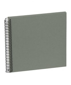 Sprial Piccolino, 20 cream white pages, efalin cover, grey | 4250540901787 | 353039