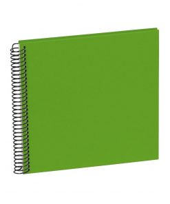 Sprial Piccolino, 20 cream white pages, efalin cover, lime | 4250540901770 | 353038