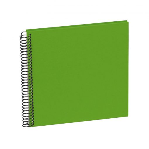 Sprial Piccolino, 20 cream white pages, efalin cover, lime   4250540901770   353038