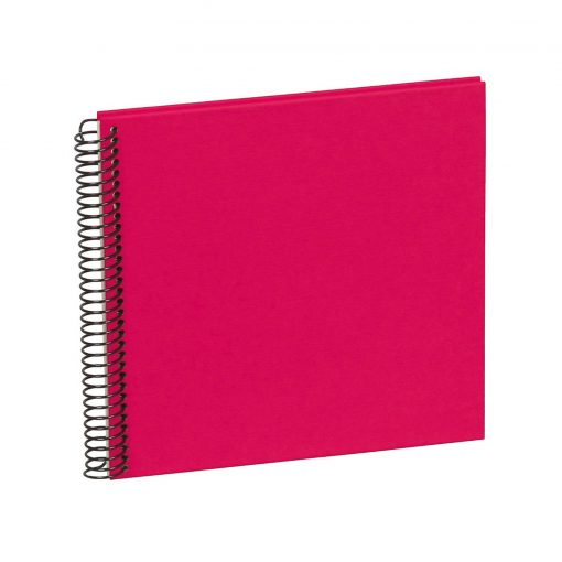 Sprial Piccolino, 20 cream white pages, efalin cover, pink | 4250540901732 | 353033