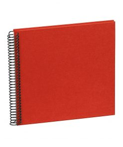 Sprial Piccolino, 20 cream white pages, efalin cover, red | 4250540901718 | 353031