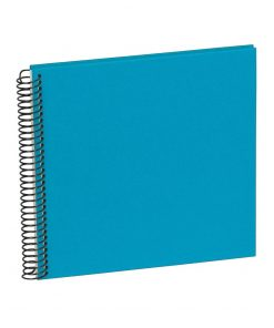 Sprial Piccolino, 20 cream white pages, efalin cover, turquoise | 4250540901824 | 353043