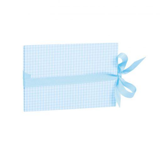 The small leporello horizontal, Vichy Blue | 4250540928081 | 355046