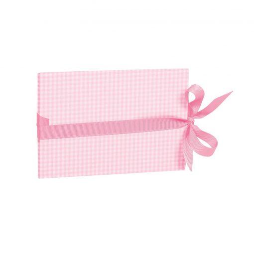 The small leporello horizontal, Vichy pink | 4250540928074 | 355045