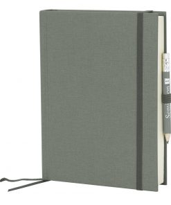 Travel Diary Grand Voyage, 304 pages laid paper, plain, grey | 4250053671580 | 351274