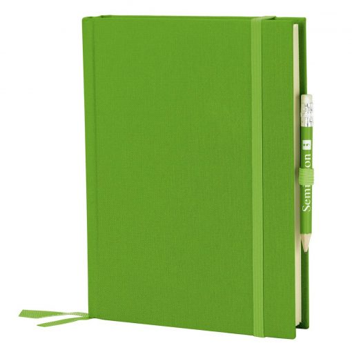 Travel Diary Grand Voyage, 304 pages laid paper, plain, lime | 4250053671566 | 351272