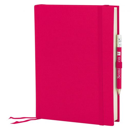 Travel Diary Grand Voyage, 304 pages laid paper, plain, pink | 4250053671504 | 351267