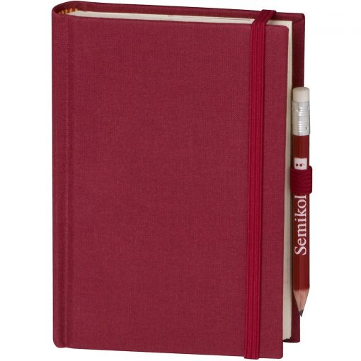 Travel Diary Petit Voyage, 304 pages of laid paper, plain, burgundy | 4250053670439 | 351184