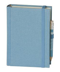 Travel Diary Petit Voyage, 304 pages of laid paper, plain, ciel | 4250053670477 | 351188
