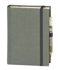 Travel Diary Petit Voyage, 304 pages of laid paper, plain, grey | 4250053670521 | 351192