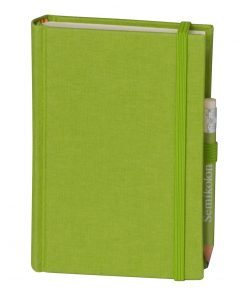Travel Diary Petit Voyage, 304 pages of laid paper, plain, lime | 4250053670507 | 351190