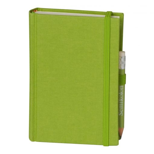 Travel Diary Petit Voyage, 304 pages of laid paper, plain, lime   4250053670507   351190