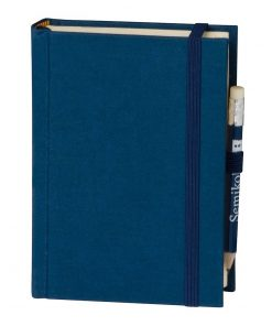 Travel Diary Petit Voyage, 304 pages of laid paper, plain, marine | 4250053670415 | 351182
