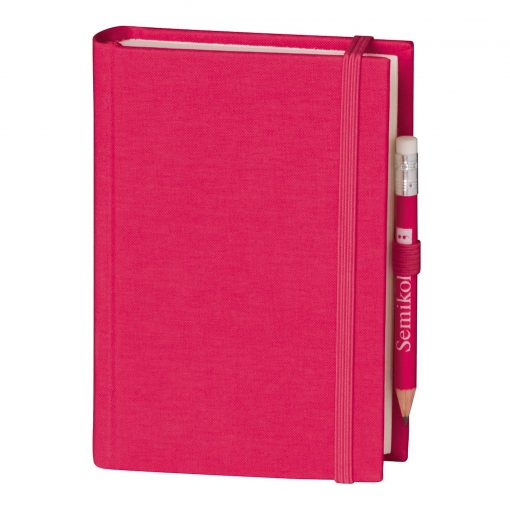 Travel Diary Petit Voyage, 304 pages of laid paper, plain, pink | 4250053670446 | 351185