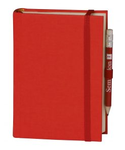 Travel Diary Petit Voyage, 304 pages of laid paper, plain, red | 4250053670422 | 351183