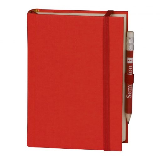 Travel Diary Petit Voyage, 304 pages of laid paper, plain, red   4250053670422   351183