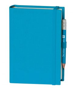 Travel Diary Petit Voyage, 304 pages of laid paper, plain, turquoise | 4250053696347 | 351196