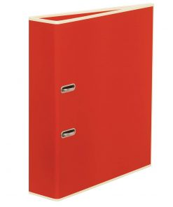 Wide Ring Binder (A4) lever mechanism, removable labels - 7 cm spine, red | 4250053663219 | 353394