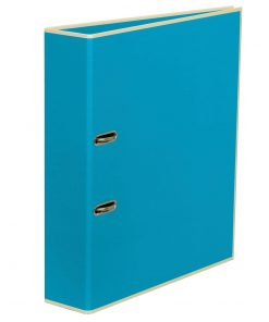 Wide Ring Binder (A4) lever mechanism, removable labels - 7 cm spine, turquoise | 4250053696705 | 353406